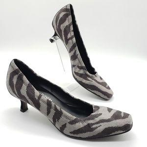 Donald J. Pliner Shoes - Donald J. Pilner - Seana zebra print kitten heels